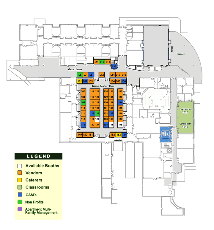 Floor Plan Pm Expo Jacksonville Property Manager Pages