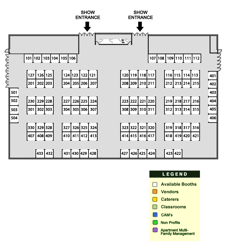 Floor Plan Pm Expo South Florida 2017 Property Manager